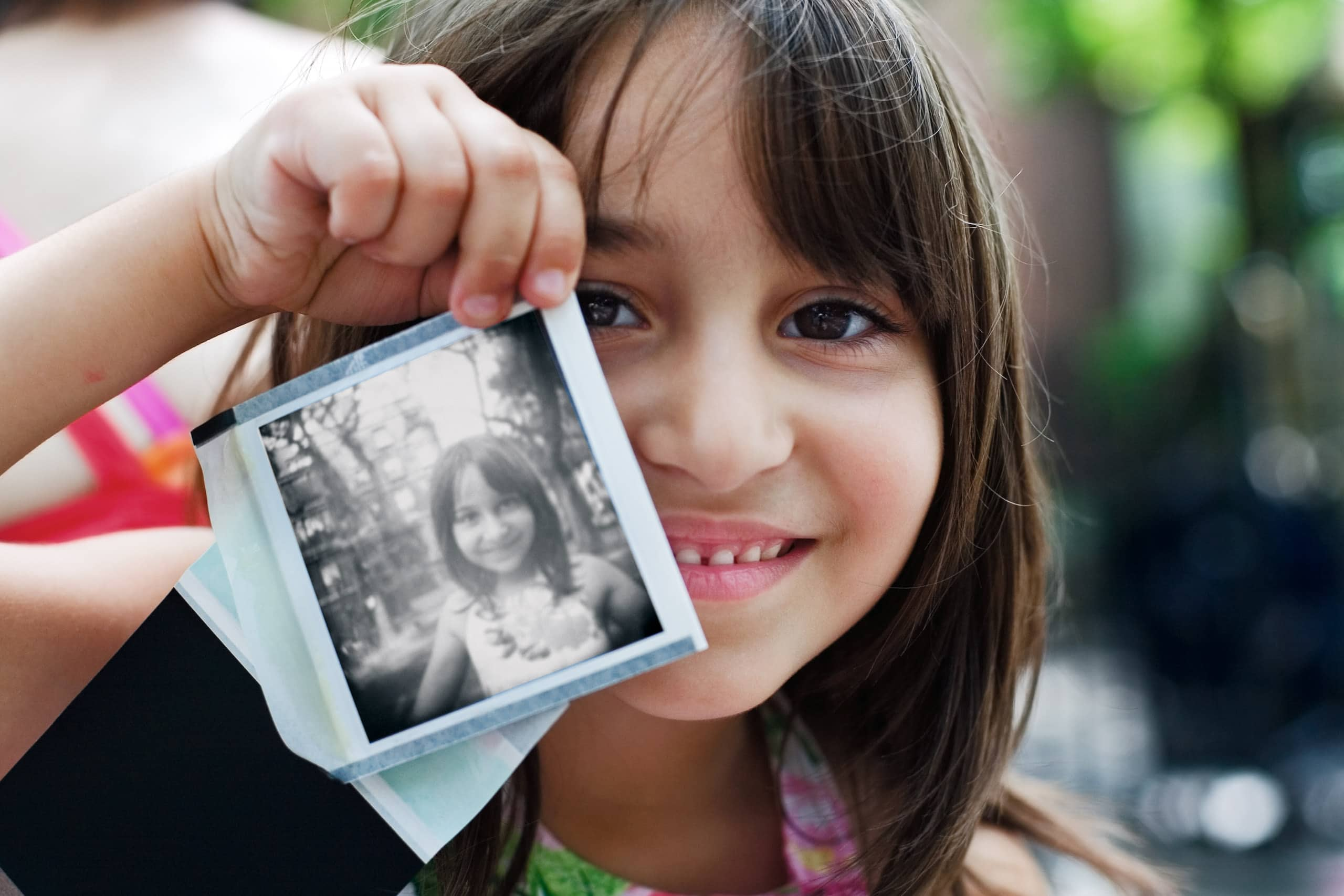 Digital image from the 1 Earth City (aka NYChildren) portrait photography series by Danny Goldfield